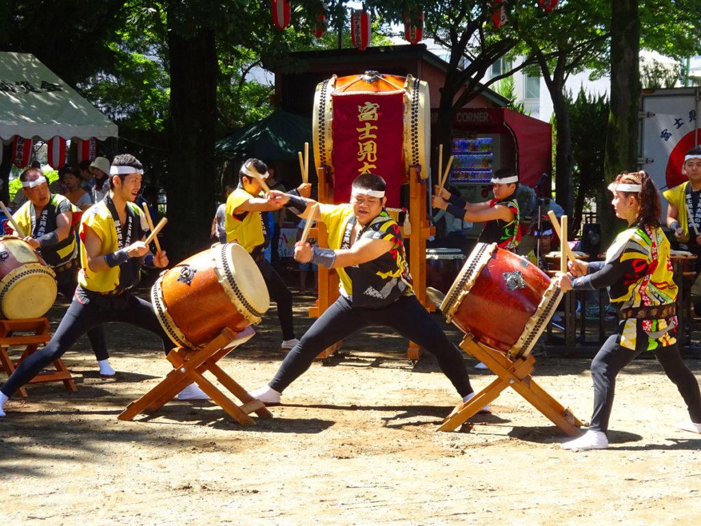 富士見太鼓の会 乱れ2段打ち